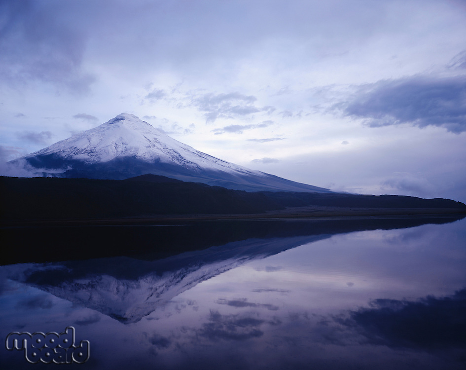 Mt. Fuji Reflected in Lake