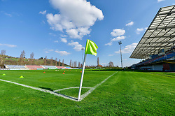 Stadium Lendava prior women football match between National teams of Slovenia and Iceland in 2019 FIFA Women's World Cup qualification, on April 06, 2018 in Sportni park Lendava, Lendava, Slovenia. Photo by Mario Horvat / Sportida