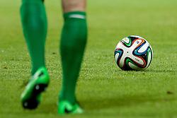 Ball during football match between FC Koper (SLO) and Naftici Baku (AZE) in 2nd Leg of 2nd Round of Qualification UEFA Europa League 2015 on July 10, 2013 in Bonifika, Koper, Slovenia. Photo by Urban Urbanc / Sportida