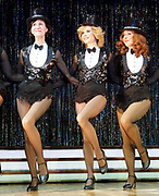 Stepping Out <br /> by Richard Harris <br /> at The Vaudeville Theatre, London, Great Britain <br /> press photocall <br /> 9th March 2017 <br /> <br /> Amanda Holden as Vera - centre <br /> <br /> <br /> <br /> <br /> Photograph by Elliott Franks <br /> Image licensed to Elliott Franks Photography Services