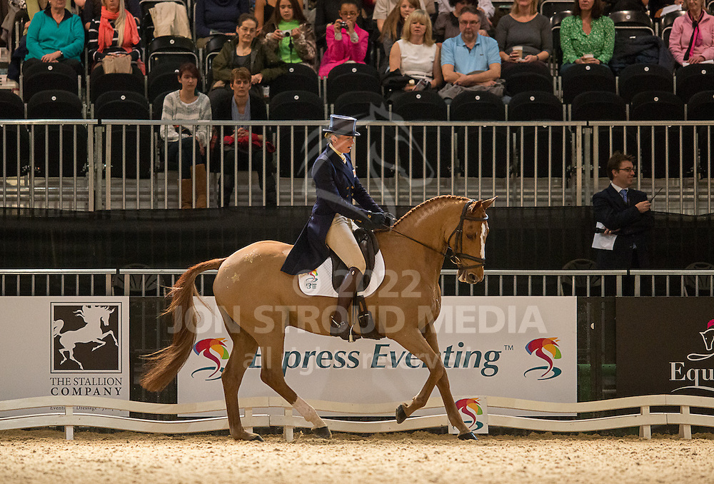 Flora Harris (GBR) & Law Choice - Dressage - Express Eventing - Horse World Live - ExCel London - 17 November 2012