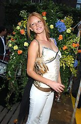 Model OLIVIA INGE at Michele Watches Kaleidoscope Summer Garden Party held at Home House, Portman Square, London on 15th June 2005.<br />
