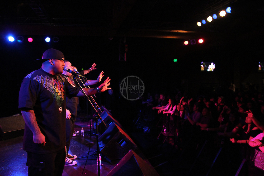 Nesian Nine performing during Springfest '12 at The Showbox SODO.