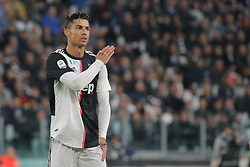 May 19, 2019 - Turin, Turin, Italy - Cristiano Ronaldo #7 of Juventus FC reacts to a missed chance during the serie A match between Juventus FC and Atalanta BC at Allianz Stadium on May 19, 2019 in Turin, Italy. (Credit Image: © Giuseppe Cottini/NurPhoto via ZUMA Press)