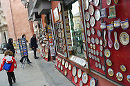 Alberto Carrera, Tipical souvenirs shops, Toledo,  World Heritage Site by UNESCO, Castilla La Mancha, Spain, Europe