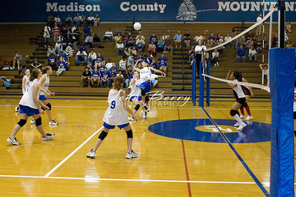 MCHS JV Volleyball.vs George Mason.10/4/2007..