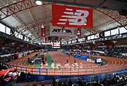 Feb 11, 2017; New York, NY, USA; General overall view of the 110th Millrose Games at The Armory.