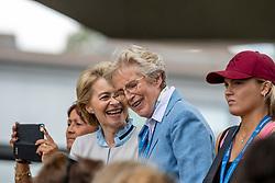 LEYEN Ursula von der, WINTER-SCHULZE Madeleine<br /> Aachen - CHIO 2019<br /> Impressionen am Rande<br /> Deutsche Bank Preis<br /> Großer Dressurpreis von Aachen<br /> Grand Prix Kür CDIO5* <br /> 21. Juli 2019<br /> © www.sportfotos-lafrentz.de/Stefan Lafrentz