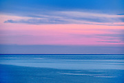 Dusk on Lake Superior<br /> Marathon<br /> Ontario<br /> Canada
