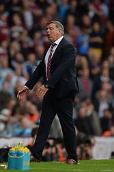 West Ham United Manager, Sam Allardyce reacts - Photo mandatory by-line: Mitch Gunn/JMP - Tel: Mobile: 07966 386802 21/09/2013 - SPORT - FOOTBALL - Boleyn Ground - London - West Ham United V Everton - Barclays Premier League
