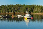 Fishing boat <br /> Blacks Harbour<br /> New Brunswick<br /> Canada