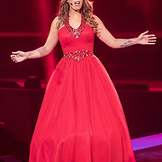 NLD/Amsterdam/20171223 - The Christmas Show 2017 in de Ziggo Dome, Glennis Grace