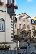 Marktplatz mit Rathaus und Amthaus (GoetheStadtMuseum), Ilmenau, Thüringen, Deutschland | market square, Ilmenau, Thuringia, Germany