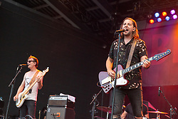 June 30, 2018 - Milwaukee, Wisconsin, U.S - JIMMY WEAVER and SAM GETZ of Welshly Arms performs live at Henry Maier Festival Park during Summerfest in Milwaukee, Wisconsin (Credit Image: © Daniel DeSlover via ZUMA Wire)