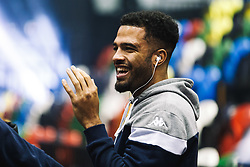 Lewis Champion of Bristol Flyers looks on - Rogan/JMP - 14/10/2018 - BASKETBALL - Copper Box Arena - London, England - British Basketball All-Stars Championship 2018.