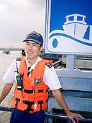 Ferry boatman