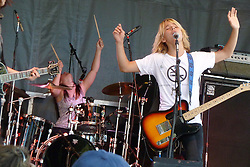 Kicking Daisies Performing Live in Concert at the Gathering of the Vibes 2010, Seaside Park, Bridgeport, Connecticut