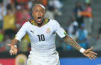 Andre Ayew ( Ghana )<br /> joie