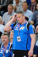 Trainer Dirk Beuchler (TBV) nachdenklich
