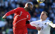 Wellington-Football, World Cup Qualifier, New Zealand v Peru