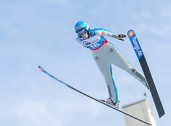 30.01.2016, Normal Hill Indiviual, Oberstdorf, GER, FIS Weltcup Ski Sprung Ladis, Bewerb, im Bild Line Jahr (NOR) // Line Jahr of Norway during her Competition Jump of FIS Ski Jumping World Cup Ladis at the Normal Hill Indiviual, Oberstdorf, Germany on 2016/01/30. EXPA Pictures © 2016, PhotoCredit: EXPA/ Peter Rinderer