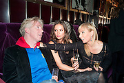 PHILIP TREACY; SASHA VOLKOVA; MARGARITA WENNBERG, Lauren Goldstein Crowe hosts reception to thank those that particitated in the research for her book: Isabella, A Life in Fashion. The Fumoir. Claridge's. London. 8 November 2010. -DO NOT ARCHIVE-© Copyright Photograph by Dafydd Jones. 248 Clapham Rd. London SW9 0PZ. Tel 0207 820 0771. www.dafjones.com.