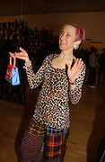 Silvia Ziranek. Triennial 2006 Tate Britain,  Millbank. London. 28 February 2006.  ONE TIME USE ONLY - DO NOT ARCHIVE  © Copyright Photograph by Dafydd Jones 66 Stockwell Park Rd. London SW9 0DA Tel 020 7733 0108 www.dafjones.com