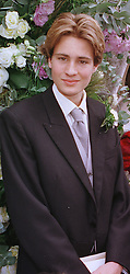 MR BEN GOLDSMITH he is the son of the late Sir James Goldsmith, at a wedding in London on 5th June 1999.MSW 83 MO