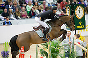 Marc Houtzager - Sterrehof's Tamino<br /> Rolex FEI World Cup Final 2013<br /> © DigiShots