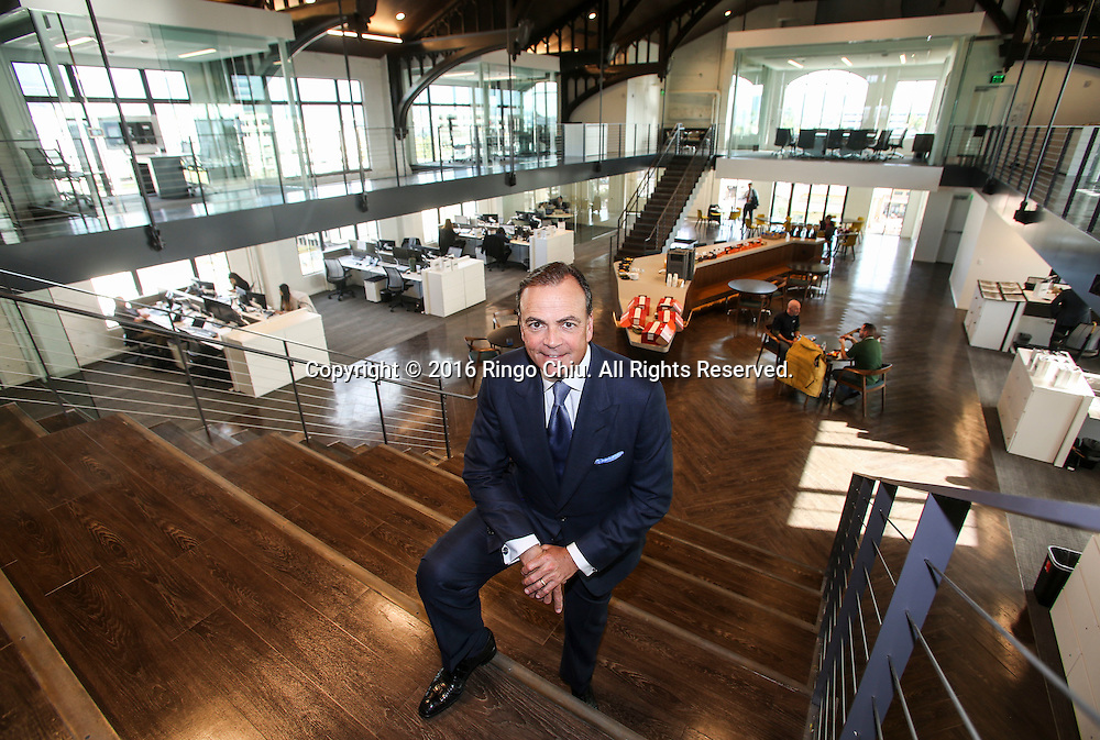 Los Angeles developer Rick Caruso at his newest development, the Masonic Temple in Glendale.(Photo by Ringo Chiu/PHOTOFORMULA.com)<br /> <br /> Usage Notes: This content is intended for editorial use only. For other uses, additional clearances may be required.
