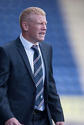 Falkirk's manager Gary Holt.<br /> Falkirk 3 v 1 Morton, Scottish Championship 17/8/2013.<br /> &copy;Michael Schofield.