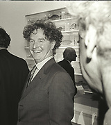MALCOLM MCLAREN, Sensation Opening. Royal Academy of Art. London.16 September 1997.
