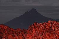Nyiragongo Volcano  Mikeno view  Congo