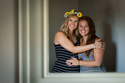 Jackie Priest, sister-in-law and birth doula for Baby Palmer hosts a blessing way for Danielle Palmer, Sunday, July 30, 2017  at Modern Mama Welness in Louisvile.