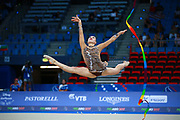 Carmen Whelan from Canada began gymnastics at age six. She is a very beautiful and elegant gymnast. She was born in 1998.