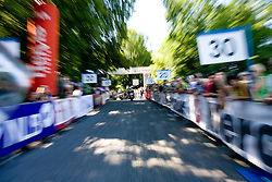Finish line at Ljubljanski Grad at 2nd stage of Tour de Slovenie 2009 from Kamnik to Ljubljana, 146 km, on June 19 2009, Slovenia. (Photo by Vid Ponikvar / Sportida)