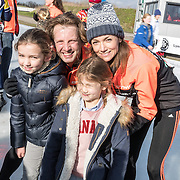 NLD/Biddinghuizen//20170305 - De Hollandse 100 - Stichting Lymph & Co 2017, Prins Floris met partner Prinses Aimee en dochters Maigal en Eliane