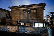 Kawasaki, November 21 2014 - Japanese artist Tatsumi ORIMOTO's home as seen from the outside.