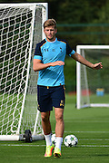 Eric Dier during Tottenham Training Session at Tottenham Training Centre, Enfield, United Kingdom on 13 September 2016. Photo by Jon Bromley.