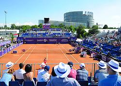 May 25, 2018 - France - Internationaux de tennis de Strasbourg - Court Patrice Dominguez (Credit Image: © Panoramic via ZUMA Press)