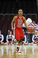 13 March 2010:   Ball State's Ty'Ronda Benning (22) during the MAC Tournament game basketball game between Ball State and Toledo and  at Quicken Loans Arena in Cleveland, Ohio.