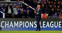 Leicester City manager Claudio Ranieri  - Mandatory by-line: Matt McNulty/JMP - 27/09/2016 - FOOTBALL - King Power Stadium - Leicester, England - Leicester City v FC Porto - UEFA Champions League