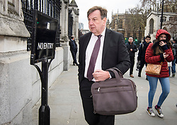 © Licensed to London News Pictures. 12/12/2018. London, UK. JOHN WHITTINGDALE MP is seen in Westminster as Prime Minister Theresa May faces a vote of no confidence from her own party. Photo credit: Ben Cawthra/LNP