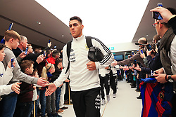 Argentina players greet fans on arrival at the Etihad Stadium - Mandatory by-line: Matt McNulty/JMP - 23/03/2018 - FOOTBALL - Etihad Stadium - Manchester, England - Argentina v Italy - International Friendly