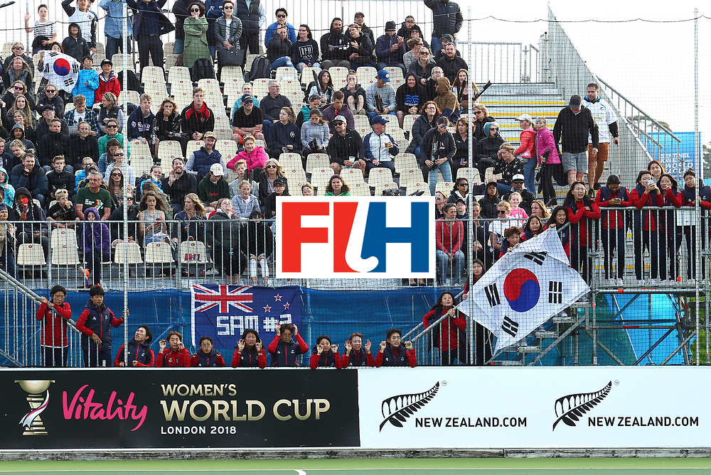 New Zealand, Auckland - 26/11/17  <br /> Sentinel Homes Women&rsquo;s Hockey World League Final<br /> Harbour Hockey Stadium<br /> Copyrigth: Worldsportpics, Rodrigo Jaramillo<br /> Match ID: 10321 - KOR vs ENG<br /> Photo: