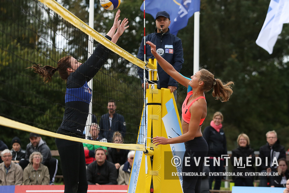 Line Trans Hansen (DEN). Beach volleyball - Continental Cup Round 2, Pool A, in Odense, Denmark on September 20-21 2014.