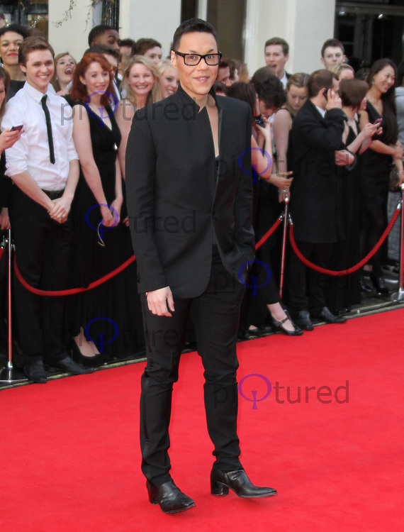 Gok Wan The Olivier Awards 2011, Theatre Royal Drury Lane, London, UK, 13 March 2011:  Contact: Ian@Piqtured.com +44(0)791 626 2580 (Picture by Richard Goldschmidt)