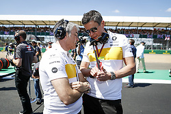 July 8, 2018 - Silverstone, Great Britain - Motorsports: FIA Formula One World Championship 2018, Grand Prix of Great Britain, ..Chester Nick, Marcin Budkowski  (Credit Image: © Hoch Zwei via ZUMA Wire)