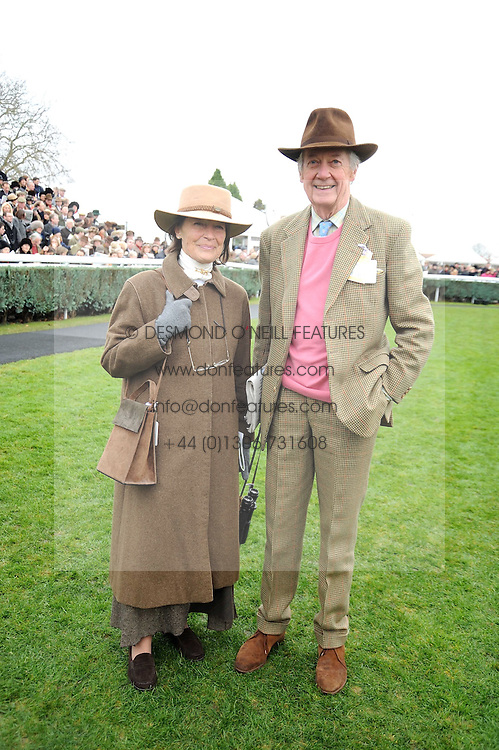 VISCOUNT &amp; VISCOUNTESS MARCHWOOD at the 2008 Hennessy Gold Cup held at Newbury racecourse, Berkshire on 29th November 2008.<br /> <br /> NON EXCLUSIVE - WORLD RIGHTS