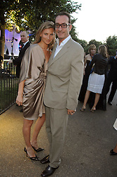 ROBERT HANSON and ELIZABETH VON GUTTMAN at the annual Serpentine Gallery Summer Party in association with Swarovski held at the gallery, Kensington Gardens, London on 11th July 2007.<br />